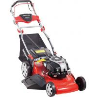 Buy cheap Garden Tool Green Steel Petrol Self Propelled Lawn Mower With Big Wheel from wholesalers