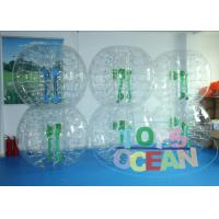 China PVC Bubble Ball Inflatable Interactive Games For Kids / Adults Outdoor Game wholesale