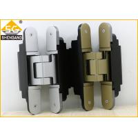 Quality Middle Duty Zamak Invisible Door Hinges 180 Degrees Of Security Door for sale