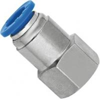 Wholesale Pneumatic Female Straight NPT Threaded Fittings With Push Fit Technology from china suppliers