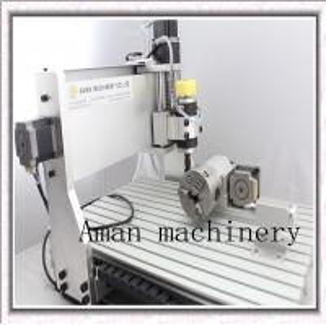 China AMAN cnc engraving machine 3040 200W pcb drilling machine wholesale