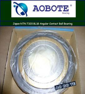 Quality Japan NTN 7320 BL1G Angular Contact Ball Bearing Single Row for sale