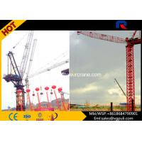 China Span 5-50M 12t Luffing Jib Tower Crane With Overload / Stroke Limiter wholesale