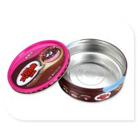 Quality 300g Chocolate Tin Box Silver Inside And CYMK Printed Outside 0.23mm for sale