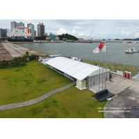 China Glass Wall Lounge Arcum Marquee Tent Dome Style , Wind Resistance 100 - 120km/h wholesale