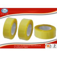 "China BOPP Acrylic 2 "" Strong Stickness Carton Sealing Tape Yellowish wholesale"