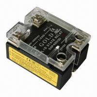 China Solid-state relay, double LED indicators, single phase SSR with UL, CE Certified wholesale