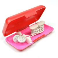 Quality TPU Households Products Earbud Storage Case Earphone Line Cable Winder for sale