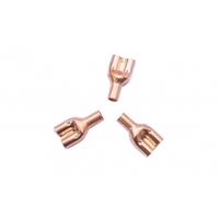 China 0.5mm Wall Thickness R410A  Air Conditioner Copper Tube  500Mpa Tensile Strength wholesale