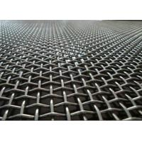 China Factory Flat Top Crimped Woven Wire Mesh Multi Color With Beautiful Structure wholesale