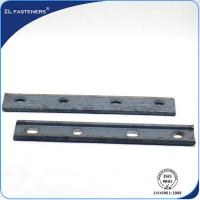 China Professional Railroad Accessories Railway Fish Plate For Rail Connection wholesale