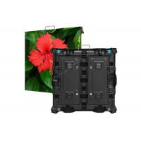China AC220V/110V P3 P6 Indoor Fixed Led Display Screen Board 768 X 768mm Alloy Cabinet on sale