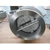 China Flanged Dual Plate Wafer Check Valve , Full Port Wafer Lug Type Check Valve wholesale