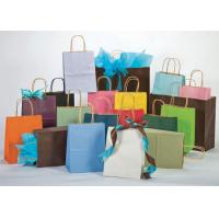 China Gift paper bag with ribbon on sale