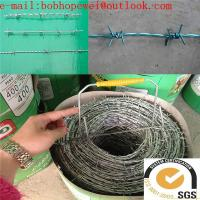 Buy cheap Barbed Wire Factory / Razor Barbed Wire/ot dipped galvanized wire, iron wire barbed wire  free samples from wholesalers