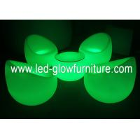 China Modern Color changed rechargable LED Chair with adapter for wedding decoration wholesale