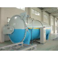 China Composite Automatic Glass Industrial Autoclave Pressure Vessel , High Efficiency wholesale