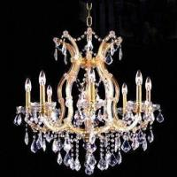 China Crystal Chandelier with 9 Lights, Measures 660 x 660mm wholesale