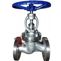 China Straight Body Din Globe Valve Metal Seal With Bolted Bonnet Rising Stem on sale