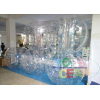 China Outdoor Amazing Inflatable Bumper Ball Clear Bubble Sumo Balls For Kids / Adults wholesale