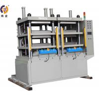 China 2000kg Servo  Control Hydraulic Press Machine For FPC Laminating With Two Work Stations wholesale