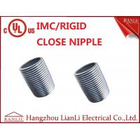 Buy cheap 1/2 inch to 4 inch Rigid Conduit Close Nipple All Thread Electro Galvanized from wholesalers