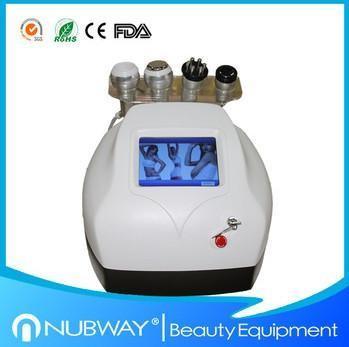 Quality New designed RF+ Vacuum+Ultrasonic Cavitation Body Slimming Skin Lifting Machine for sale