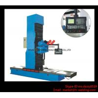 China Carbon Steel Vertical End Face Milling Machine with Siemens Electric / Mechanical Feeding wholesale