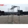 Buy cheap Sturdy Steel Ladder Frame Scaffolding Zinc Plated For Mansonry 3'×3'6