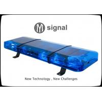 China Blue Ultra Thin Ambulance Light Bar 10V ~ 30V 990mm * 300mm * 90mm Unfade PC Material wholesale