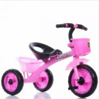 China Multi functional Children 3 wheel baby Tricycle with push rod handle wholesale