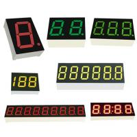 China OEM led 7 segment display with multi-color CA/CC high quality seven segment led numberic display on sale