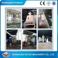 China 5-8 Ton/h Counter Flow Cooler for Cooling Animal Feed Pellets in Low Energy wholesale