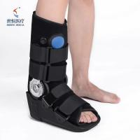 China Foot ankle brace in grey/black color ankle support brace automatic  adjustable wholesale
