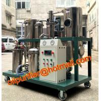 China Used Cooking Vegetable Oil Cleaning Machine,Stainless Steel Coconut Oil Filtration Equipment with oil storage tank wholesale
