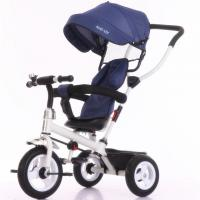 Quality China factory purple color baby tricycle new models with push bar Tricycle bike for sale