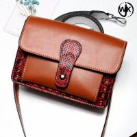 Buy cheap wholesale new products mini leather lady handbags genuine leather messager bag from wholesalers