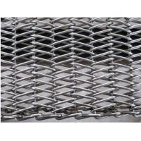 China Flexible Cold Resistant Conveyor Belt Curved SS Mesh With Smooth Surface wholesale