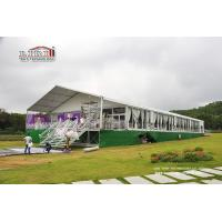 China Sound Proof Luxury Wedding Tents With Glass Wall for Conference , Exhibition , Warehouse wholesale