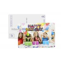 China Birthday Card 3D Lenticular Postcard Plastic Material / 3d Animal Pictures wholesale