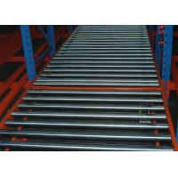China blue and orange steel beam racking gravity flow roller rack wholesale