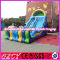 China Commercial Inflatable Bouncy Slide Equipment wholesale