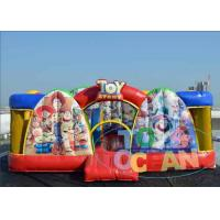 China Indoor Playground With Bouncy Castle / Inflatable Theme Park For Adults wholesale