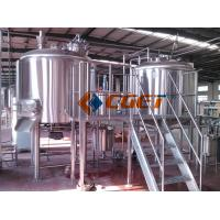 380V Three Phase Large Scale Brewing Equipment Brewery Fermentation Tanks for sale