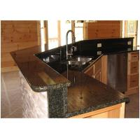 China Verde Uba Tuba Granite Countertops , Granite Kitchen Island Countertop Custom Size wholesale