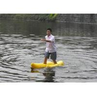 Walking On Water Inflatable Water Toys Nice Appearance Yellow Shoe Games