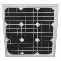 China Solid 2.7kg LED Light Solar Panel 25W Stable Maximum Power Voltage 17.9V 1.34A wholesale