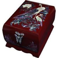 China Mother of Pearl Inlaid Jewel Case (SYT-PY45) on sale