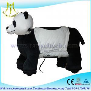 China Hansel animal electronic rides animated plush animals wholesale