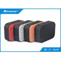 China Fabic Cloth Bluetooth Speaker , Stereo Bluetooth Speaker With SD Card Slot wholesale